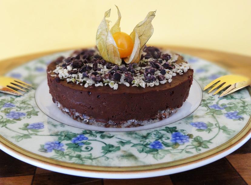 kanepi-šokolaadi toorkook parapähklitega